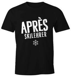 Apres-Ski Lehrer Herren T-Shirt Fun-Shirt Moonworks®
