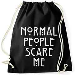 Normal People Scare Me Turnbeutel Moonworks®