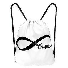 Turnbeutel Galaxy Infinity Endless Love Gymsac Stringbag Sportbeutel Hipster Beuteltasche Autiga®