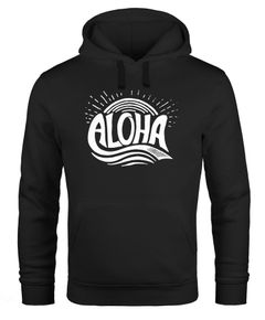 Hoodie Herren Aloha Surf Kapuzen-Pullover Männer Neverless®