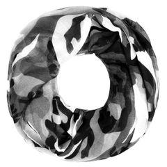 cooler Damen Schlauch--Schal Camouflage Tarnmuster Military Infinity Loop-Schal Rundschal Autiga®