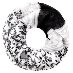 XXL Schlauchschal Infinity Loop Schal Rundschal Paisley Tube Scarf Floraler Print leichter Schal Autiga®