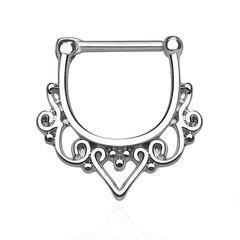 Nasenpiercing Septum Ring Ornament Tribal Piercing Nasenring Chirurgenstahl