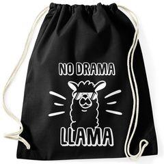 Turnbeutel No drama Llama Lama Spruch Sprüche Quote Moonworks®