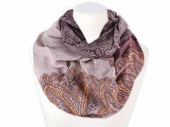 XXL Schlauchschal Infinity Loop Schal Rundschal Ornamente Paisley Tube Scarf Floraler Print Autiga®