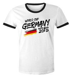 Moonworks® Herren Fan-Shirt WM Fußball Weltmeisterschaft 2018 World Cup Deutschland Adler Bundesadler Vintage WM 2018