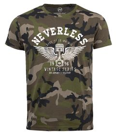 Neverless® Cooles Herren T-Shirt Car  Tuning DesignCamouflage Camo-Shirt Tarnmuster