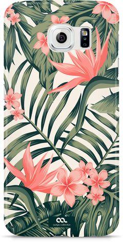 Handyhülle {variation2_option_id} Hülle Palmen Sommer Tropical Summer Palms Handy Hardcover Hardcase Schutzhülle Autiga®