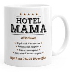 Kaffee-Tasse Hotel Mama Muttertagsgeschenk MoonWorks®