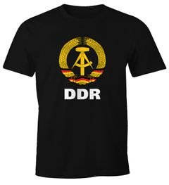 Herren T-Shirt WM DDR Nostalgie Fun-Shirt Moonworks®