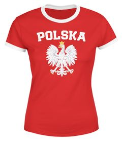 Damen WM-Shirt WM Polska Polen Poland Flagge World Cup Weißer Adler WM 2018 Moonworks®
