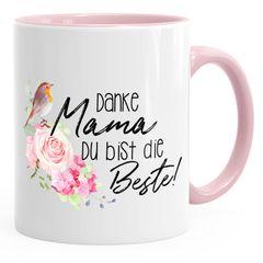 Kaffee-Tasse Muittertagsgeschenk Danke Mama du bist die Beste Kaffeetasse Teetasse Keramiktasse MoonWorks®