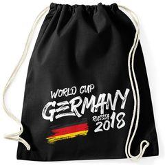 Turnbeutel Deutschland WM Fußball Weltmeisterschaft 2018 World Cup Fan-Shirt Germany Moonworks®