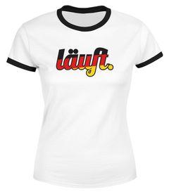 Herren WM-Shirt Läuft - Deutschland Fußball Fan-Shirt - Edition 2018 Moonworks®