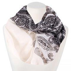 Loop Schal Schlauchschal Paisley Muster Damen Sommer dünn Infinity Scarf XXL Autiga ®