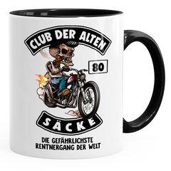 Kaffee-Tasse Club der alten Säcke Geschenk-Tüte Club der alten Säcke für Ältere Geburtstag Männer Moonworks®
