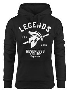 Kapuzenpullover Damen Sparta Gym Athletics Sport Fitness Kapuzen-Pullover Neverless®