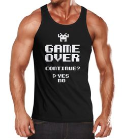 Herren Tanktop Muskelshirt Tank Top Muscle Shirt Achselshirt Moonworks®