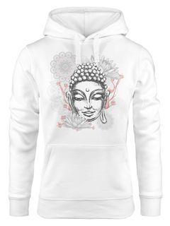 Hoodie Damen Buddha Kapuzenpullover Kapuzenpulli Kapuzenpullover Neverless®