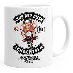 Geburtstags-Tasse Club Der Alten Schachteln Geschenk-Tasse für ältere Frauen Kaffee-Tasse Runder Geburtstag Moonworks®