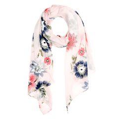 Damen Schal mit Blumen Blüten Neverless®
