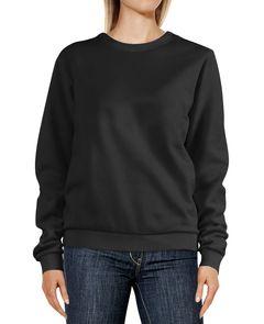 Sweatshirt Damen {replace} Rundhals-Pullover Pulli Sweater Moonworks®