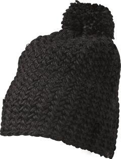 Damen Häkelmütze Wintermütze Bommelmütze Pudelmütze Neverless®