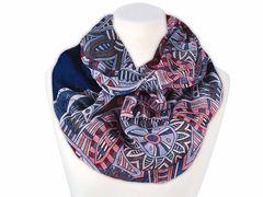 XXL Schlauchschal Infinity Loop Schal Rundschal Ornamente Maya Muster Tube Scarf Autiga®