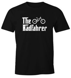 Herren T-Shirt The Radfahrer Downhill Fahrrad Biker Mountainbike Fun-Shirt Moonworks®