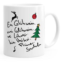 Kaffee-Tasse Ein Glühwein swei Glühwein-Tasse Weihnachten MoonWorks®