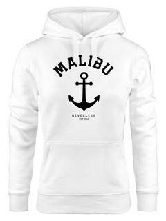 Hoodie Damen Anker Malibu Anchor Kapuzen-Pullover Neverless®