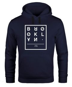 Hoodie Herren Brooklyn New York City Urban Kapuzen-Pullover Männer Neverless®