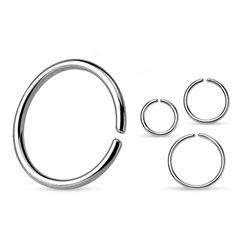 Continuous Ring Seamless Ring O-Ring Piercing Ring Chirurgenstahl Autiga®