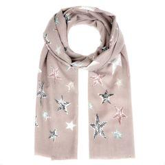 weicher Damen-Schal mit Sternen Stars Vintage Schal Tuch Halstuch Schal Autiga®