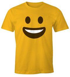 Herren T-Shirt Emoticon Gruppenkostüm Fasching Karneval Junggesellenabschied JGA lustig Fun-Shirt Moonworks®