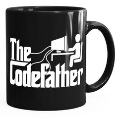Kaffeetasse The Codefather Programmierer IT Informatiker Coder Geschenk-Tasse MoonWorks®