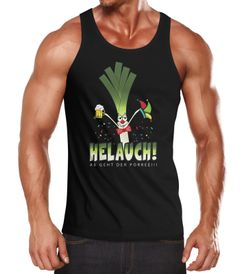 Herren Tanktop Karneval Fasching Fastnacht Helauch Lauch Helau lustig Fun-Shirt Moonworks®