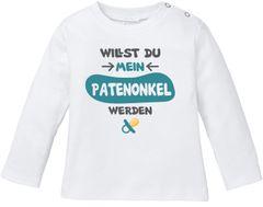 MoonWorks/® Baby Langarmshirt Babyshirt Wunschkind Jungen M/ädchen Shirt