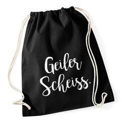 Turnbeutel Geiler Scheiss Spruch-Beutel Gymsac Gymbag Moonworks®