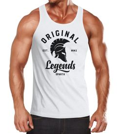 Herren Tank-Top Original Legends Gladiator Sparta Muskelshirt Muscle Shirt Neverless®