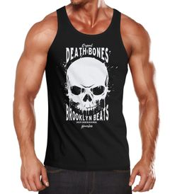 Herren Tank-Top Skull Death and Bones Muskelshirt Muscle Shirt Neverless®