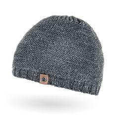 gefütterte Strickmütze für Herren, Mütze mit Fleece Futter, Winter-Mütze Neverless®