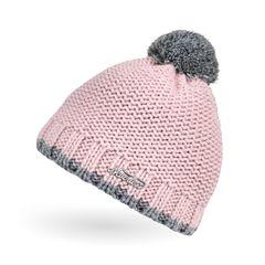 Kinder Strick-Mütze Winter Mädchen Jungen Kinder Grobstrick mit reflektierendem Bommel Winter-mütze Neverless®
