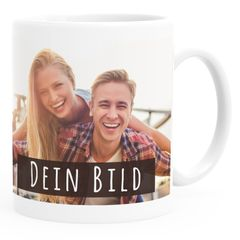 personalisierte Fototasse mit eigenem Foto persönliches Geschenk Kaffeetasse mit Bild selbst gestalten SpecialMe®