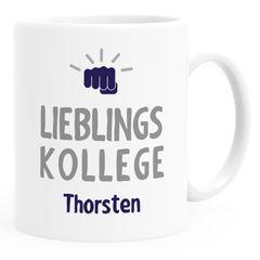 personalisierte Kaffee-Tasse Lieblings-{style_variation} mit Namen Namenstasse personalisierte Geschenke SpecialMe®