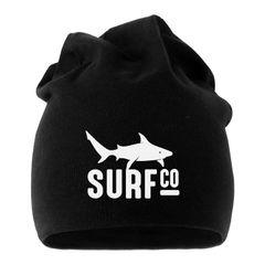 Jersey Beanie Surf Co Hai Shark Herren Damen bedruckt Moonworks®