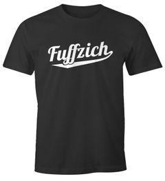 Herren T-Shirt Geschenk für Männer zum 40. 50. Geburtstag Dialekt Fuffzich Vierzich MoonWorks®