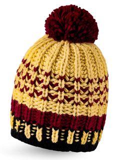 Strickmütze Wintermütze Bommelmütze bunt gestreift Fleece Pudelmütze Neverless®