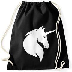 Turnbeutel Einhorn Unicorn Hipster Beutel Tasche Sportbeutel Gymsac Gymbag Moonworks®