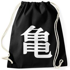 Turnbeutel Son Goku Turtle Symbol Dragon-Ball Hipster Beutel Tasche Sportbeutel Gymsac Gymbag Moonworks®